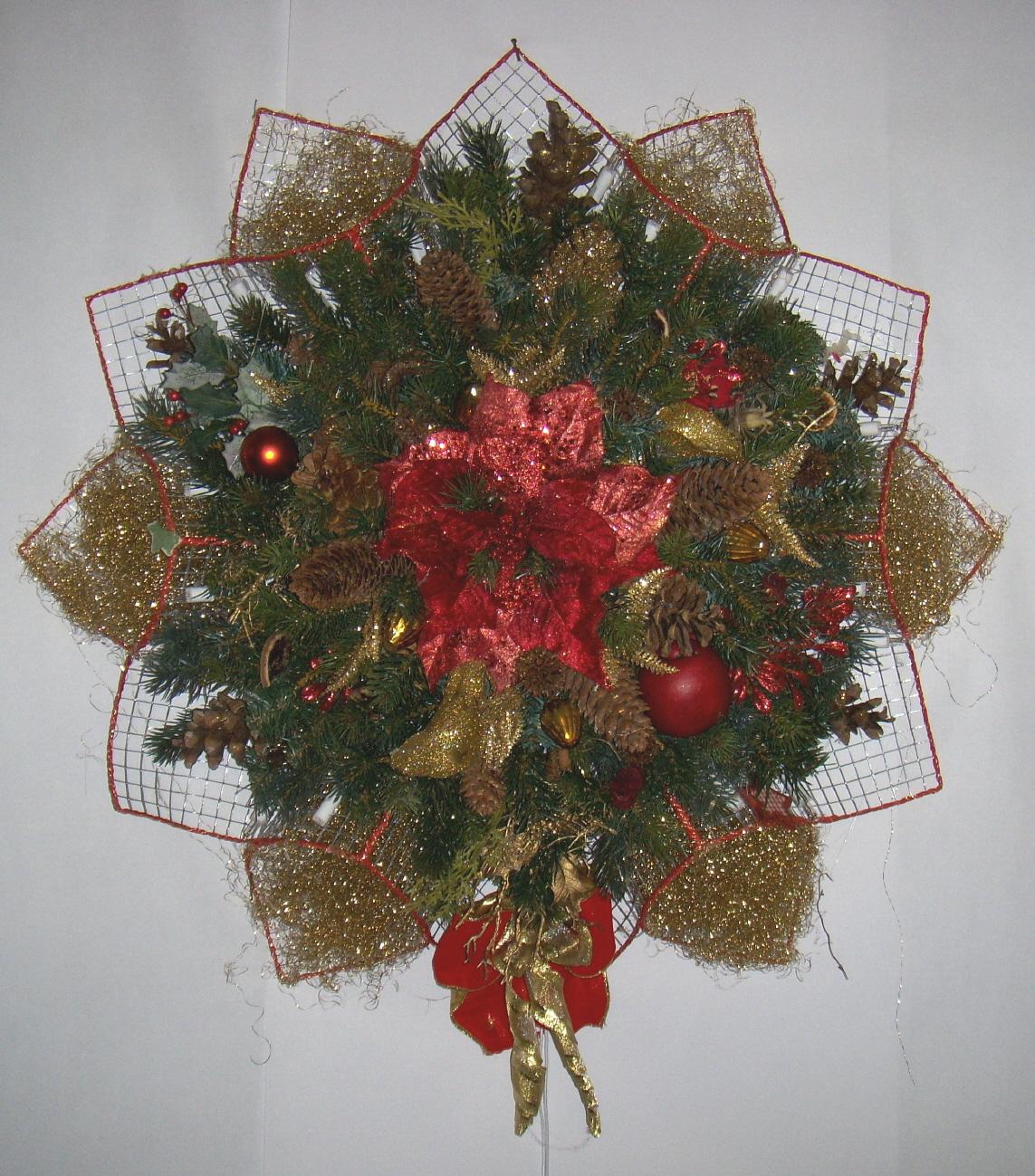 Stern mit beleuchtung - Weihnachtsdeko furs buro ...